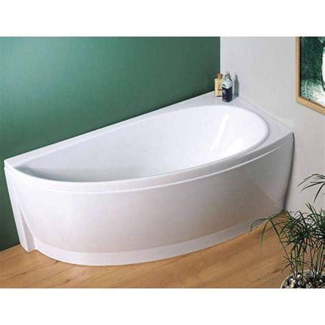 offset corner bath shower screen avocado designer offset corner bath with panel hugo oliver