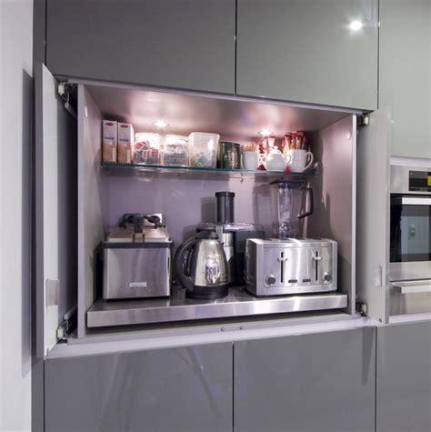 kitchen appliances ideas 42 creative appliances storage ideas for small kitchens