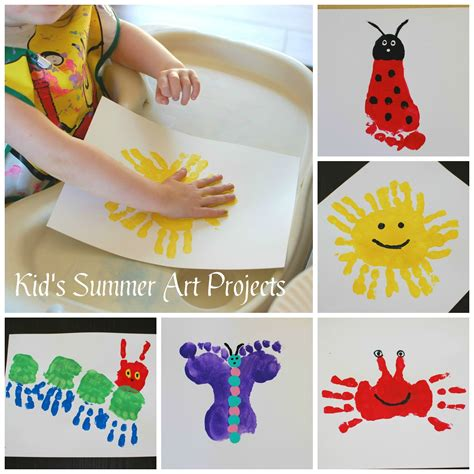 summer arts and crafts for pinkie for pink kid s summer projects