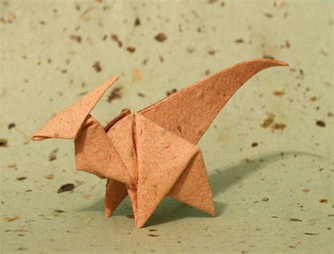origami parasaurolophus origami parasaurolophus by donyaquick on deviantart