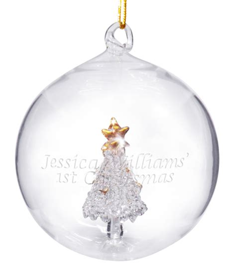 large baubles australia personalised baubles 1st gifts