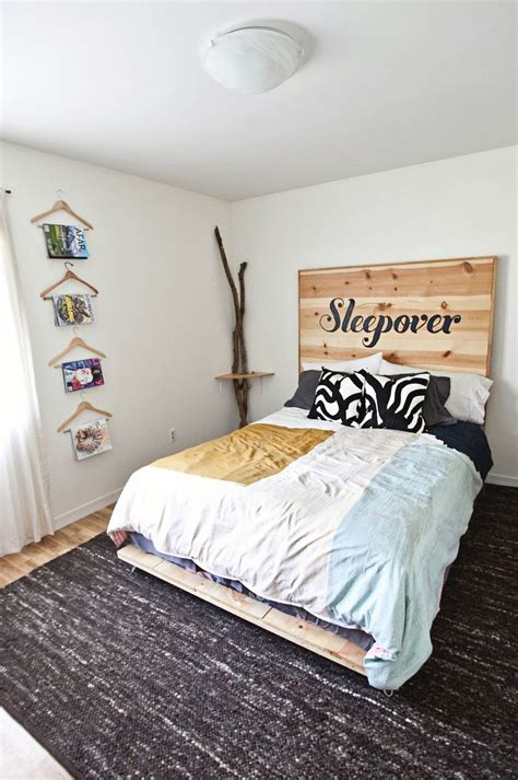 home made bed frame diy simple bed frame a beautiful mess