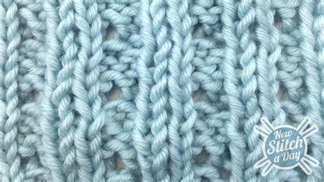 eyelet knit stitch the eyelet mock cable ribbing stitch knitting stitch 82