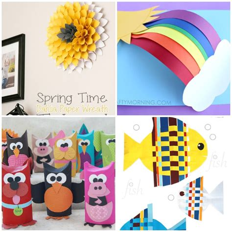 creative crafts with paper creative paper clipart clipground