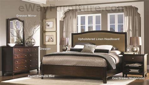 metropolitan bedroom furniture metropolitan mahogany panel platform bed bedroom set