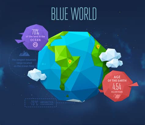 origami world blue world origami earth vector free vector graphic