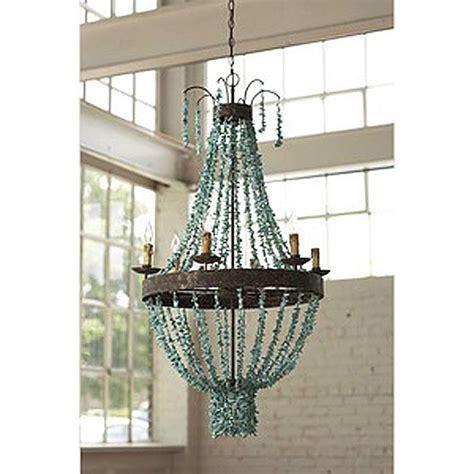 diy bead chandelier turquoise diy chandelier lighting ideas