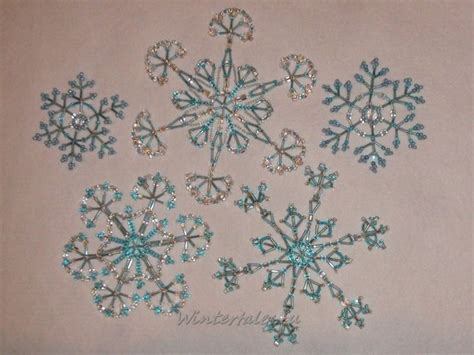 beaded snowflake patterns 1000 images about beaded snowflakes patterns
