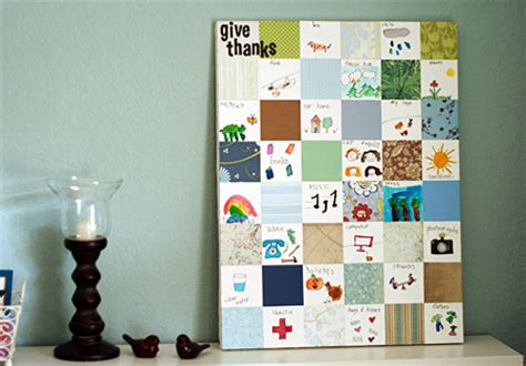 paper quilt craft thanksgiving family crafts traditions