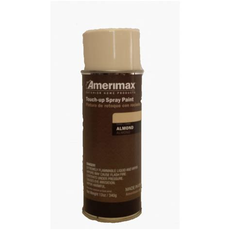 home depot paint touch up amerimax home products pro 12 oz almond touch up spray