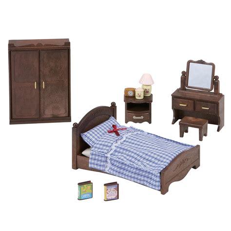 sylvanian families bedroom furniture set sylvanian families master bedroom set 163 22 00 hamleys