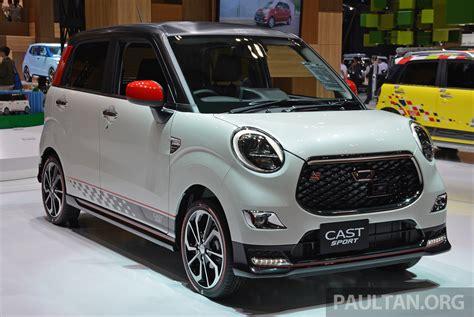 Daihatsu Cars by Tokyo 2015 Daihatsu Cast Sport Racy Kei Car Debuts