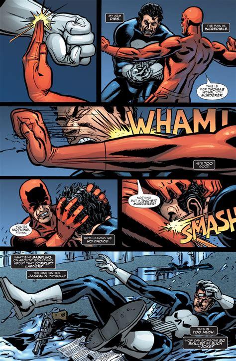 comic vs the punisher vs daredevil comicnewbies