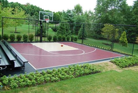 backyard court backyard basketball court ideas backyard design