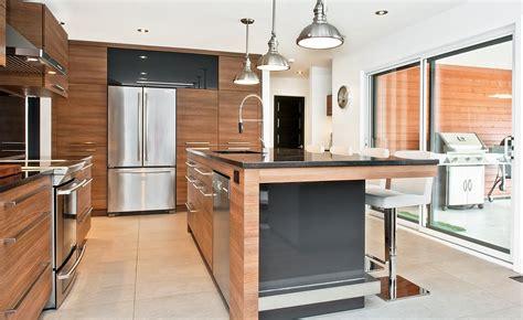 cuisine contemporaine conviviale armoires de cuisines qu 233 bec cl 233 en novaro www novaro