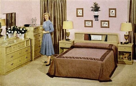 vintage bedroom furniture 1950s pin by beckman on home decor organization