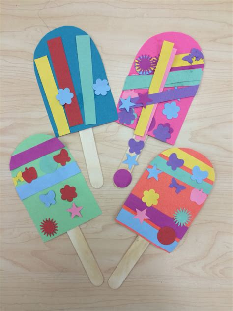 popsicle stick crafts for 8 summer popsicle stick crafts roommomspot