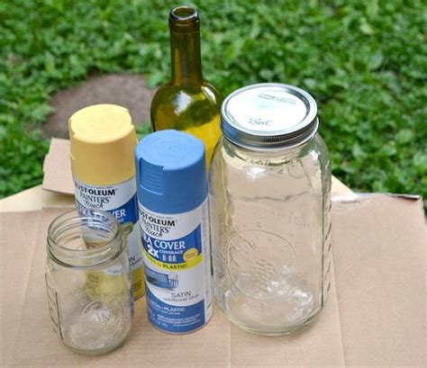 spray paint jars a simple step by step diy guide to spray painting jars