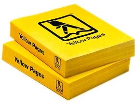 phone book picture yellow pages just got thinner lorem ipsum