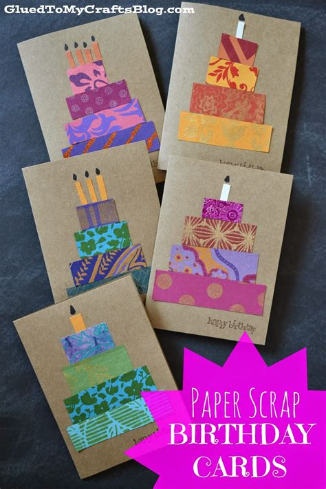how to make paper cards for birthday 20 uses for paper scraps the paper
