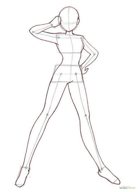 how to draw bodies anime step by step drawing how to draw anime bodies