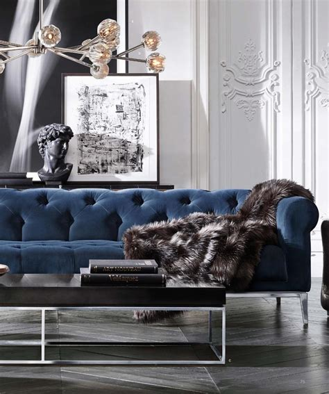 blue sofa in living room 17 best ideas about chesterfield living room on