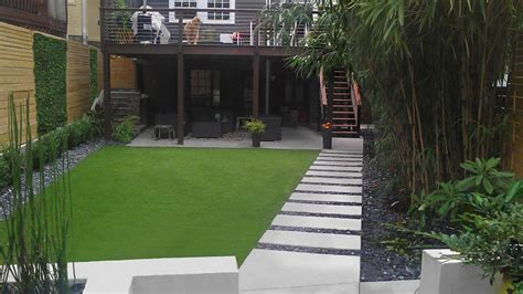 modern backyard atlanta landscaping photos