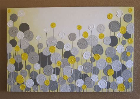paint colors yellow and grey yellow and grey wall textured painting by murraydesignshop