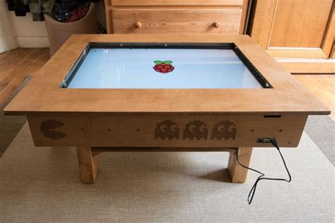 touch screen coffee table touch screen coffee table diy with 32 quot tv and low cost ccd