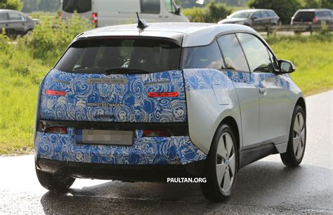Different Bmw Models by Bmw I3 Production Car Sighted Two Different Models