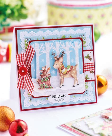 make cards free decoupage woodland cards free card