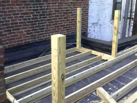 how to create a rubber st blackwood st rubber roof roof deck project