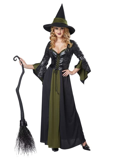 witch ideas classic witch costume 01350 fancy dress