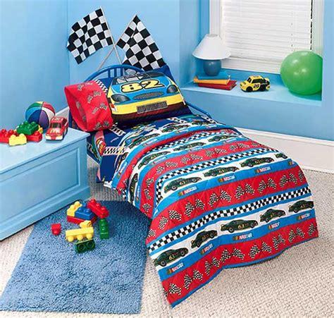 nascar bedding set nascar fast track toddler 4 comforter set