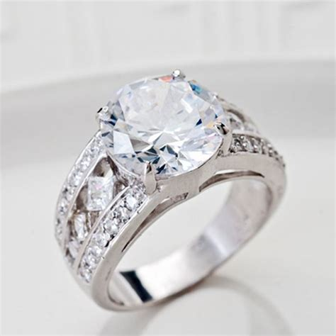 jtv jewelry luce r 13 46ctw rhodium plated sterling