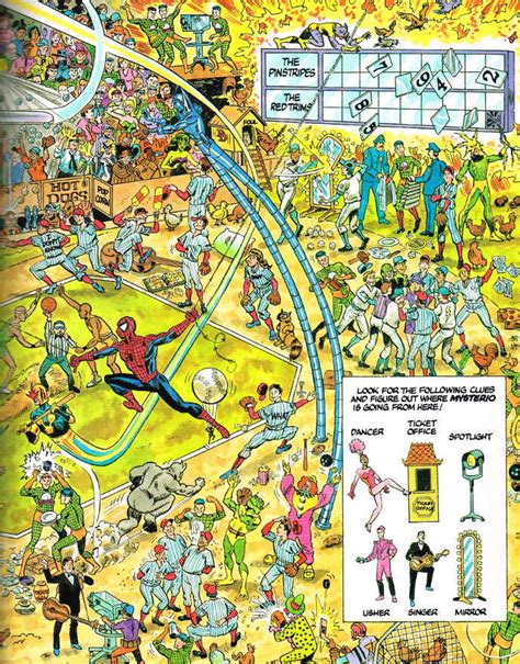 picture find books spiderfan org comics look find the amazing spider