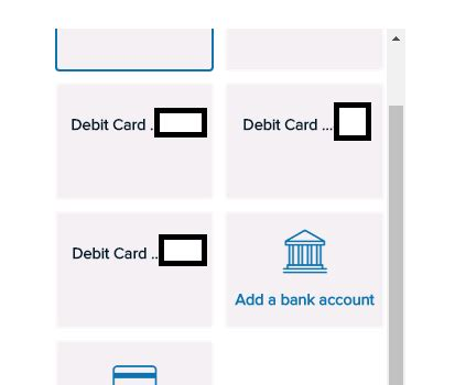 make capital one payment with debit card capital one is showing debit cards as a credit card