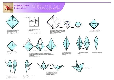 how to build an origami crane origami crane pljcs children s department
