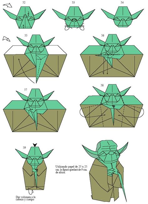 origami pdf free 25 best ideas about origami yoda on wars
