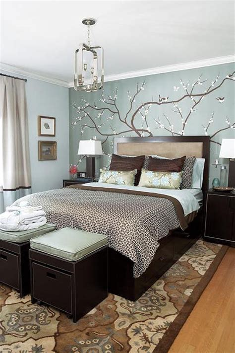 ideas for designing a bedroom blue white brown bedroom ideas bedroom decorating ideas