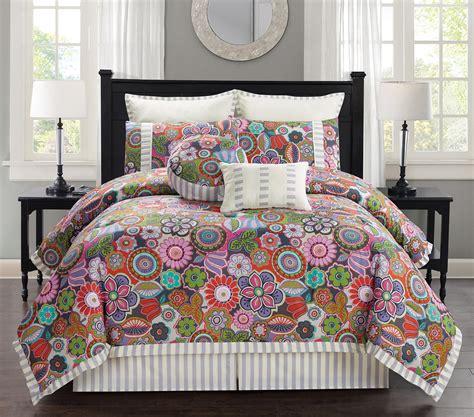 floral comforter set 8 palermo floral comforter set