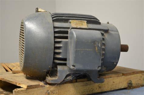 Siemens Electric Motors by Siemens Allis 50 Hp Frame 326t Electric Motor Electric