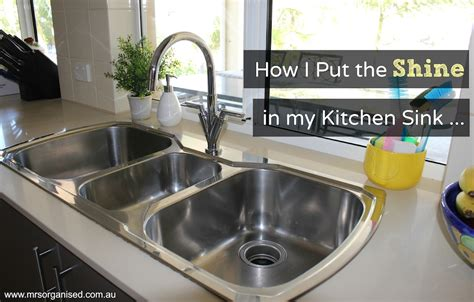 my kitchen sink is clogged how do i fix it how i put the shine in my kitchen sink