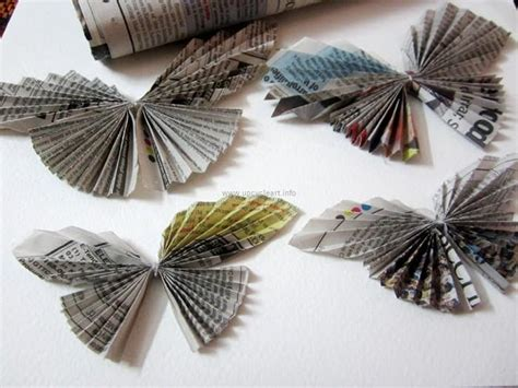 Newspaper Craft Upcycle