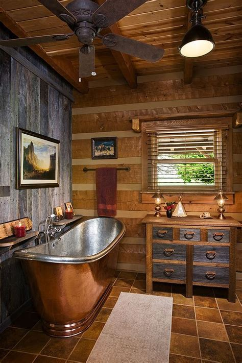 cabin bathroom designs 25 best ideas about log cabin bathrooms on