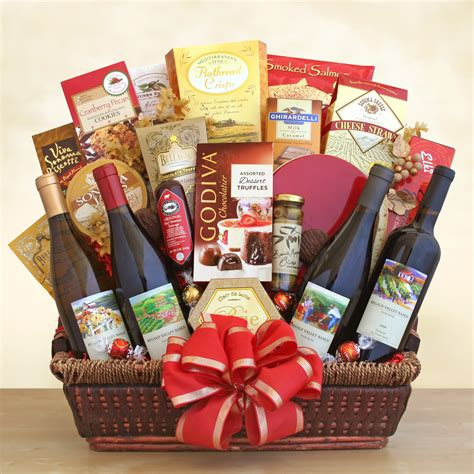 for gifts california splendor gift basket wine shopping mall