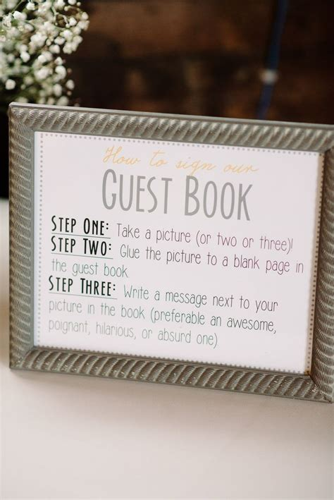 guest book picture photobooth guest book wedding ideas