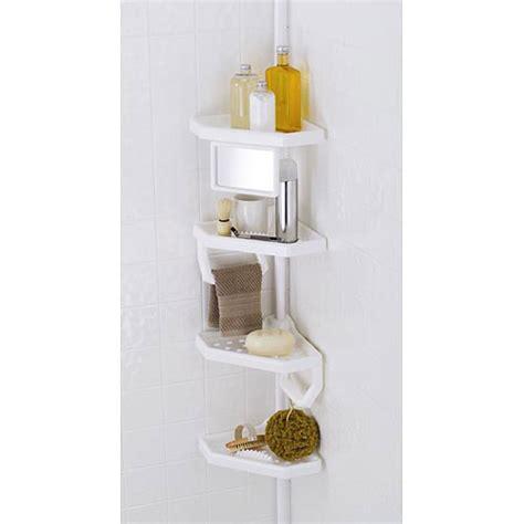 bathroom caddy storage 4 shelf bathroom storage caddy white ebay
