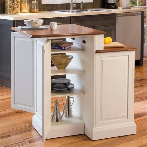 two tier kitchen island two tier kitchen island in white and oak 5010 94