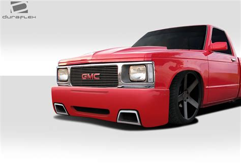 custom front and rear bumpers for s10 blazers blazer 1982 1993 chevy s10 blazer gmc jimmy duraflex ss look